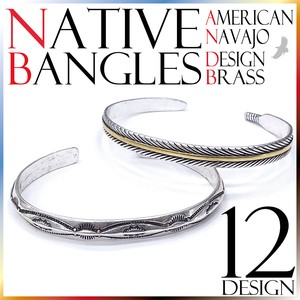 Design Bangle Brass Bracelet Native Accessory