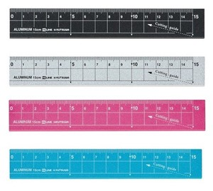 Beautiful Aluminium Ruler 15cm