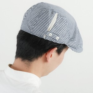Ladies Men's Stripe Flat cap
