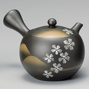 Steaming TOKONAME Ware Round shape Japanese Tea Pot