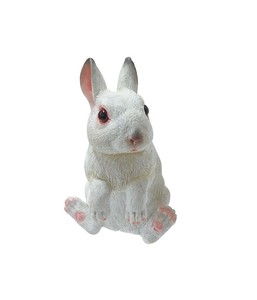 Cheerful Friends Rabbit Motion Real Animal Mascot Ornament