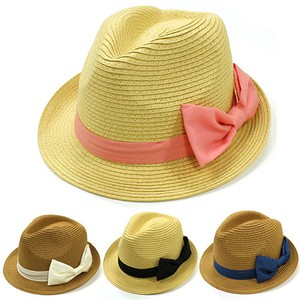 Big Ribbon Felt Hat Hat S/S Countermeasure