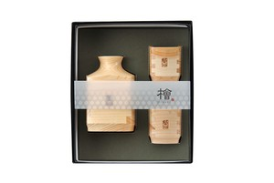 Japanese Cypress 3-unit Set Made in Japan