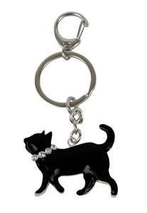 Cat Key Ring Walk Cat
