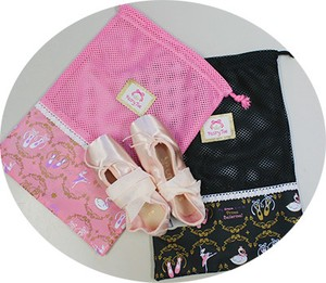 New Pattern FairyToe Ballet Mesh Pouch