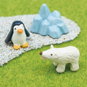 Lens Set Polar Bear Penguin Tea Animal Garden Mascot Interior