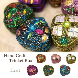 6 Colors Hand Craft Box Heart