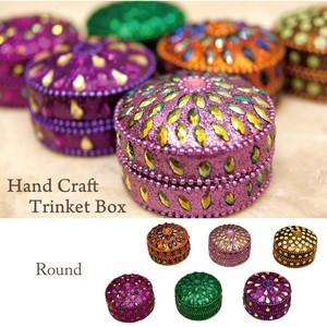 6 Colors Hand Craft Box Round