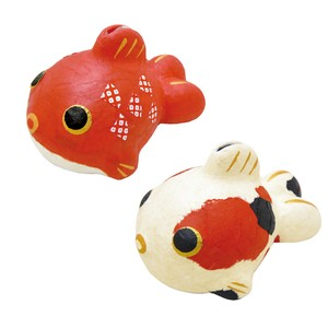 Chigiri Japanese Paper Goldfish Piggy Bank