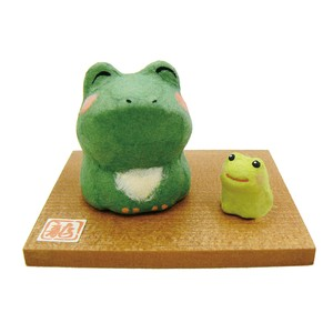Chigiri Japanese Paper Good Friends Parent And Child Frog Ornament