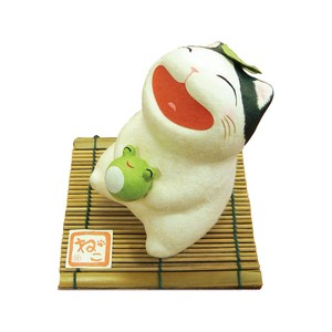Chigiri Japanese Paper Smile Cat Ornament