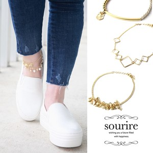 Type Gold Anklet