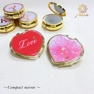 【Notle】★NEW COLLECTION★Compact mirror-ハート・love-