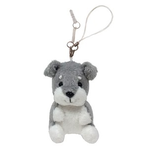 Mobile Phone Cleaner / Sitting Schnauzer / earphone jack plug accessory