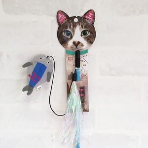 Cat Teaser Hiraki / A Fun Crazy Toy for Cats