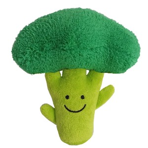 Love Pets Broccoli / A Fun Silly Dog Toy / Crinkles and Squeaks