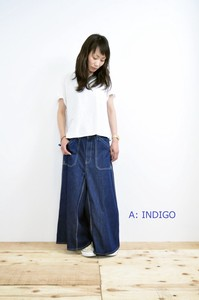 Work Skirt Pants Twill Color Version