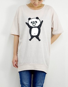 Tunic T-shirt Panda Bear
