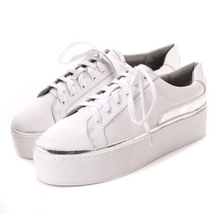 Genuine Leather Outlet Cow Leather Low-rise Sneaker