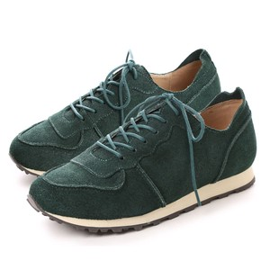 Genuine Leather Outlet Cow Leather Suede Sneaker