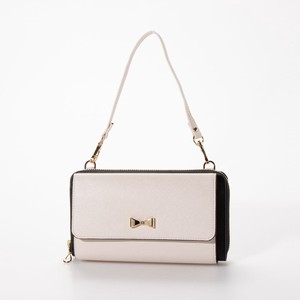 Ribbon Point Wallet Shoulder Bag