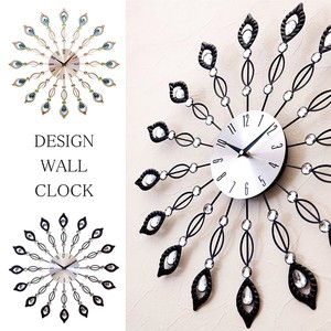 Design Wall Clock Peacock
