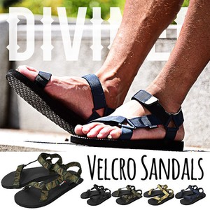 2016 S/S Objects and Ornaments Ornament Black Sandal Men's Shoe Casual Beach Resort