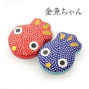 Japanese Paper Convenience Magnet Goldfish Japanese Craft Souvenir