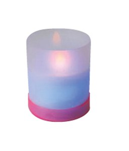 LED Candle Pink Ring