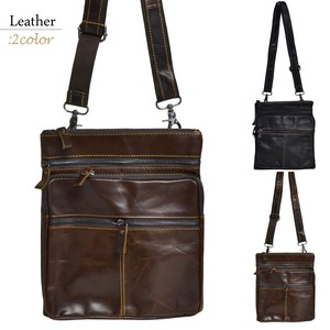Genuine Leather Handsome Shoulder Adult Retro Casual Cow Leather Shoulder