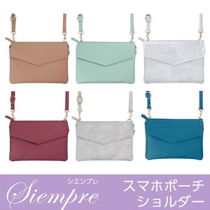 Mini Shoulder Bag Transparency Pocket