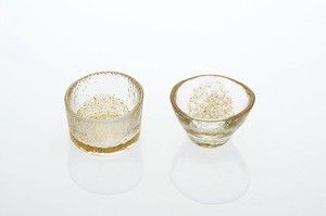 Glass Gold Decoration Spice Tray Deformation