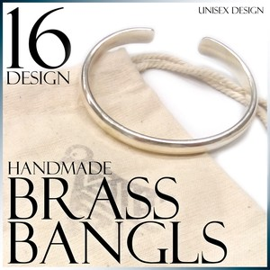 Brass Bangle Hand Maid Men's Ladies Accessory S/S Fancy Goods