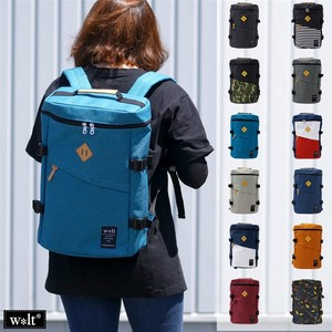 Walt Nylon Box Backpack