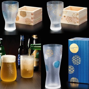 Made in Japan Beer Glass Square Liquor Glass 1Pc Gift Set
