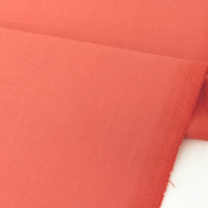 Fabric Coral Orange Design Fabric Unit Cut Sales