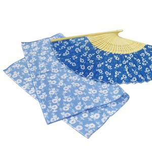 Folding Fan Tenugui (Japanese Hand Towels)