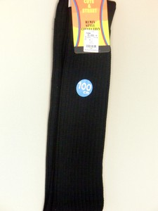 【Black color Loose socks】100cm丈ルーズソックス 黒