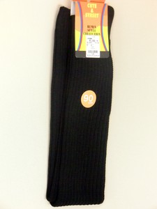【Black color Loose socks】90cm丈ルーズソックス 黒