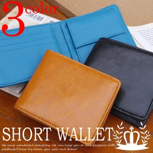 Cow Leather Wallet Card Leather Type Wallet Men's