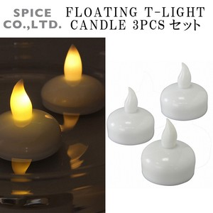 FLOATING T−LIGHT CANDLE 3PCSセット