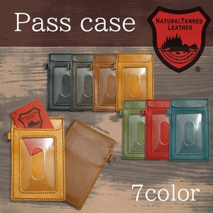 Tochigi Leather Series Commuter Pass Holder Cow Leather