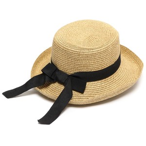 Ladies Kids Brim Ribbon Hat