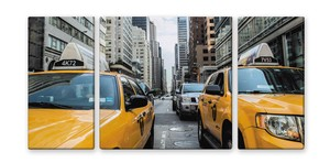 Canvas Art New Yellow New York Yellow