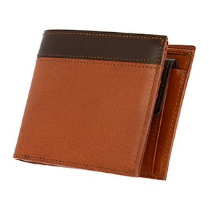 Leather Clamshell Wallet Coin Purse