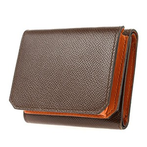 Men's Leather Trifold Wallet Coin Purse
