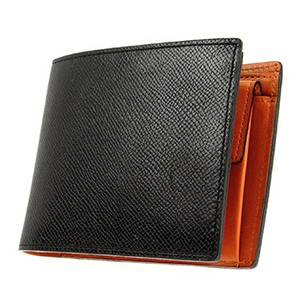 Men's Leather Clamshell Wallet Coin Purse