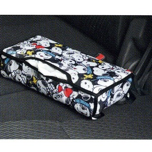 Tissue Box Cover Black Snoopy Party Car Product
