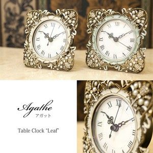 Table Clock Table Clock Leaf