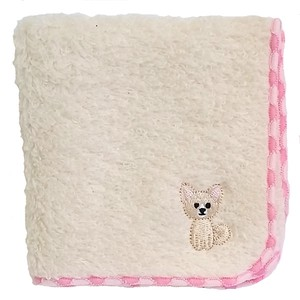 Towel handkerchief with a puppy embroidery!   /  Chihuahua